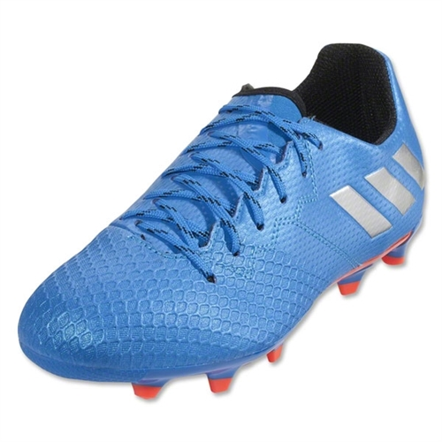 adidas Junior Messi 16.3 FG - Shock Blue/Metallic Silver/Black S79622
