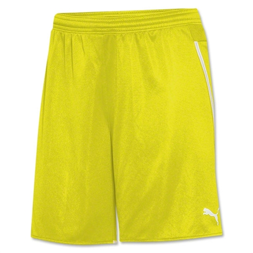Puma Women's Speed Shorts - Yellow 702062Yel