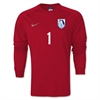 FC Florida Nike Youth LS Park Goalie II Jersey - Red 588441-657FCF
