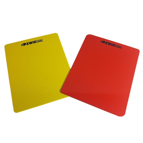 Kwik Goal Red And Yellow Cards 15B503