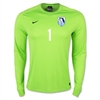 FC Florida Nike Youth LS Park Goalie II Jersey - Neon Green 588441-303FCF