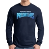 PBG Predators Long Sleeve T-Shirt - Navy PBG-LTee