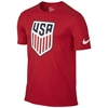 Nike USA Crest Tee 2016 - University Red 742173-657