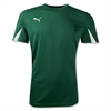 Puma Team Jersey - Dark Green 701269Grn
