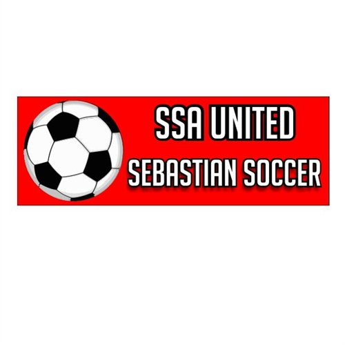 SSA United Bumper Sticker SSABump