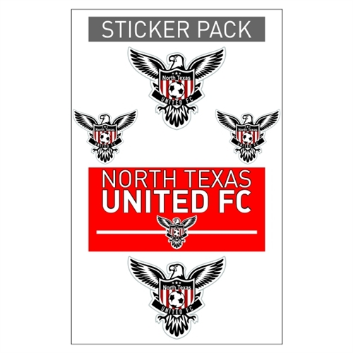 North Texas United Sticker Pack NTU-Sticker