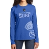South Florida Surf Women's Long Sleeve T-Shirt - Blue  SFSWomL