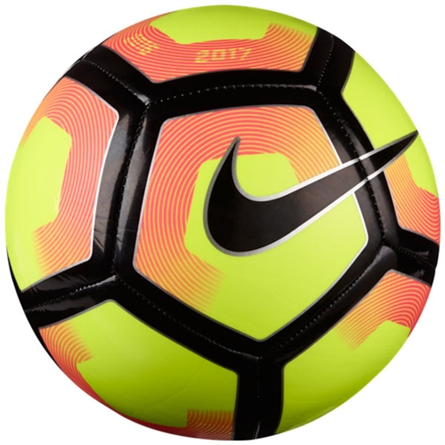 Nike Pitch Soccer Ball - Volt/Pink Blast/Black SC2993-702