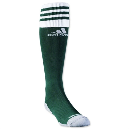 Lee County Strikers adidas Copa Zone Cushion II Socks - Collegiate Green/White 5130058LC