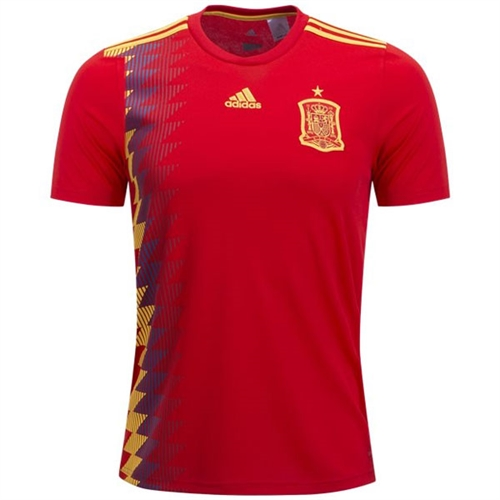 adidas Spain Home Jersey 2018 CX5355