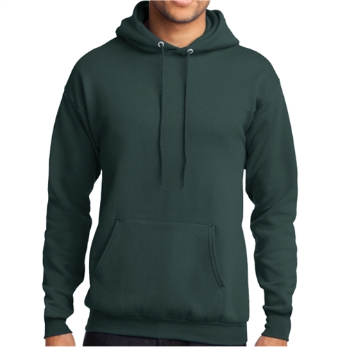 Core Fleece Pullover Hooded Sweatshirt - Forest Green PC78HFG