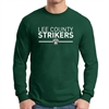 Lee County Strikers Long Sleeve T-Shirt - Forest Green G5400-LCSFG