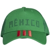 adidas Mexico 3‑Stripes Green Cap 2018 CF5189010101