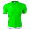 SSA United adidas Youth Estro 15 Jersey - Solar Green  S17311