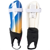 adidas Messi 10 Youth Shin Guards - Blue/Yellow - NOCSAE Approved AZ9896