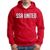 SSA United Hooded Sweatshirt - Red SSAHood