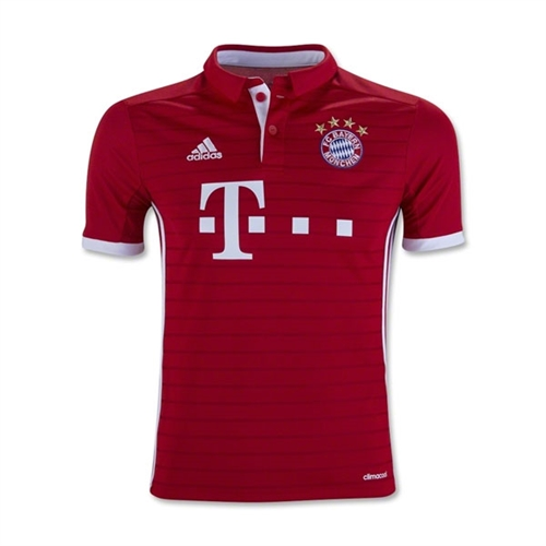 adidas Bayern Munich Youth Home Jersey 2016-2017 AI0055