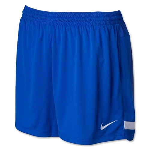 Nike Women's Hertha Knit Shorts - Blue 456271Blu