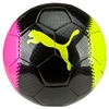 Puma evoPOWER 6.3 Trainer Soccer Ball - Pink Glo/Safety Yellow/Black 082563-10