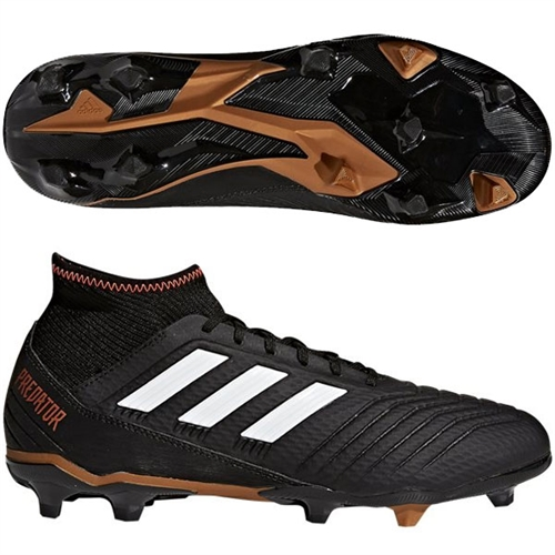 adidas Predators 18.3 FG - Black/White CP9301
