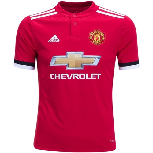 adidas Manchester United Youth Home Jersey 2017-2018 AZ7584