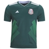 adidas Mexico Youth Home Jersey 2018 BQ4696