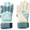 adidas Junior ACE Fingersave Goalkeeping Glove - Energy Aqua/Energy Blue BS1503