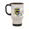 Jupiter United Custom Latte Mug MUG25SS-JU