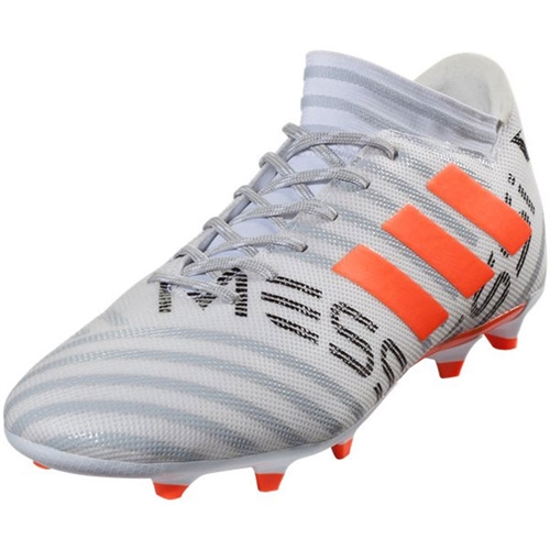 adidas Nemeziz Messi 17.3 FG - Running White/Orange CG2965