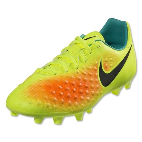 Nike Junior Magista Opus II FG - Volt/Black/Total Orange 844415-708