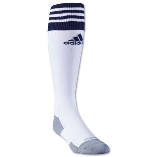 adidas Copa Zone Cushion II Socks - White/Dark Blue 5130322CZ