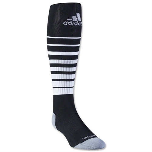 adidas Team Speed Soccer Sock - Black/White 5130276TS
