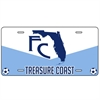FC Treasure Coast License Plate FCTC-LicenseP