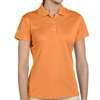 adidas Women's Basic Polo - Bright Orange A131BO