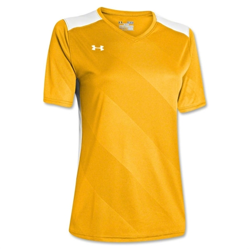Under Armour Women's Fixture Jersey - Yellow 1247791Yel