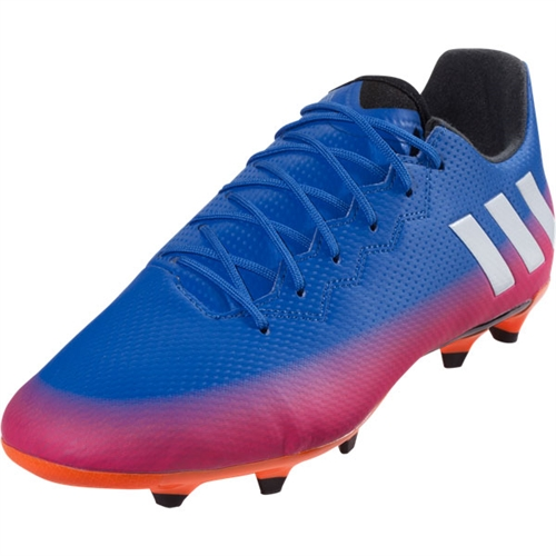 adidas Messi 16.3 FG - Blue/Ftwr White/Solar Orange BA9021