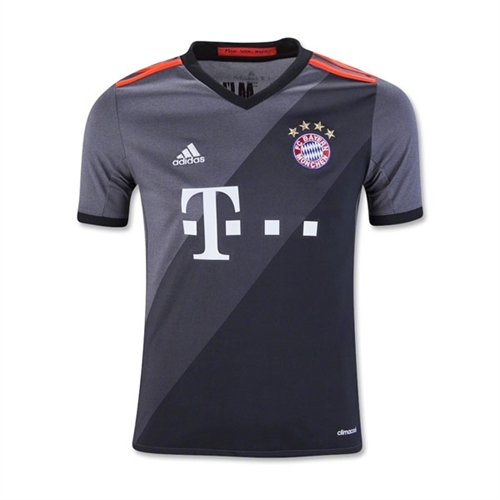 adidas Bayern Munich Youth Away Jersey 2016-2017 AZ4661