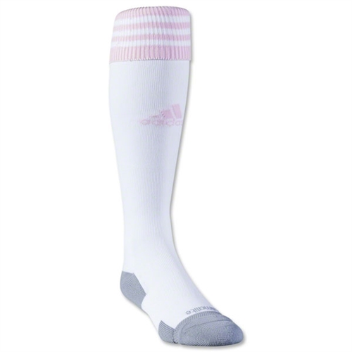 Adidas Copa Zone Cushion II Socks - White/Pink 5130090