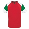 High Five Mundo Jersey - Red/Green High5MunRedGrn