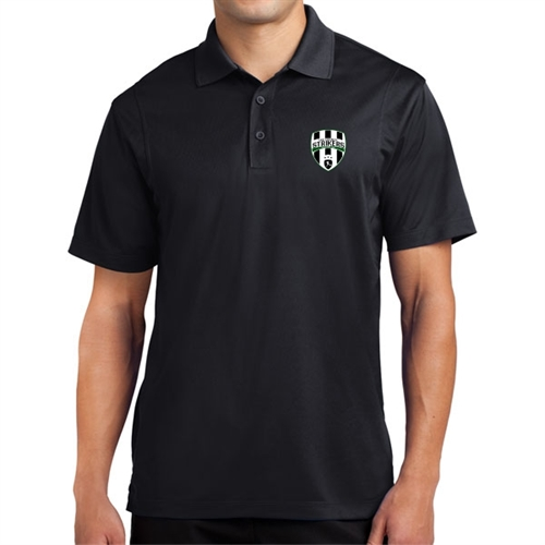 Lee County Strikers Polo Shirt - Black ST650-LCS