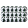 Select Club Ball - White/Green 18 Pack 02-559-854-18Pck