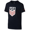 Nike USA Youth Crest Tee - Obsidian 807754-451