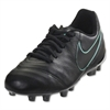 Nike Junior Tiempo Legend VI FG - Black/Black 819186-004