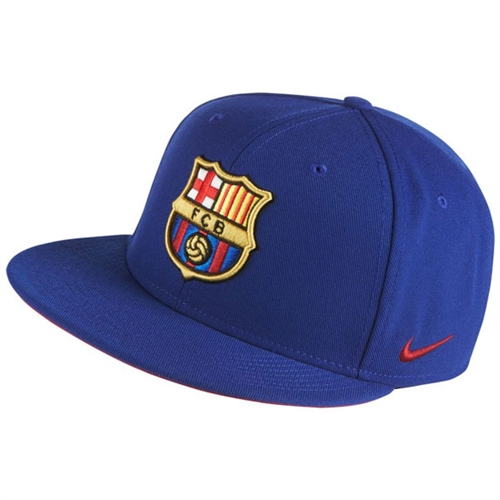 Nike Barcelona Core Cap - Deep Royal Blue/Noble Red 686241455