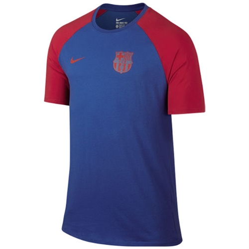 Nike Barcelona Crest Tee - Game Royal/Prime Red 805824-480