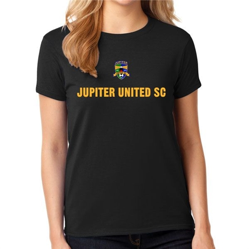 Jupiter United Women's T-Shirt - Black JU-BWTee