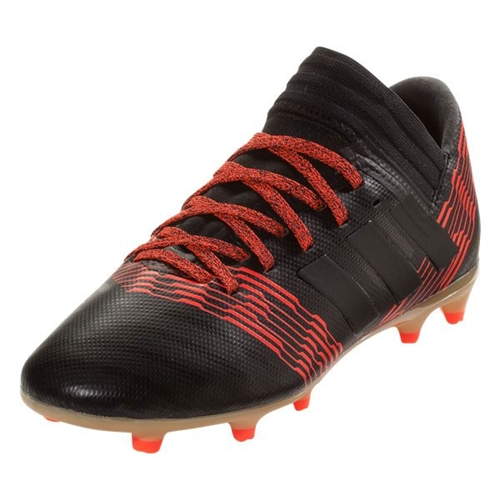 adidas Junior Nemeziz 17.3 FG - Black/Solar Red CP9165