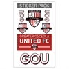 Greater Osceola United Sticker Pack  GOU-STICKER