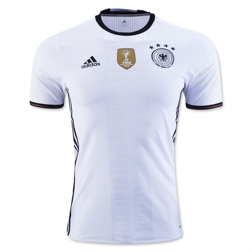 adidas Germany Authentic Home Jersey 2015-2016 AA0148
