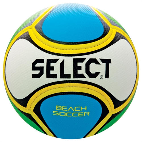 Select Beach Soccer Ball - White/Blue/Green 20-950 800